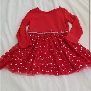 Cat & Jack Red Tutu Dress